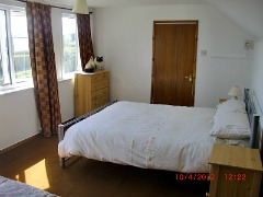Trem Tudwall Abersoch Self Catering Upstairs Double Bedroom